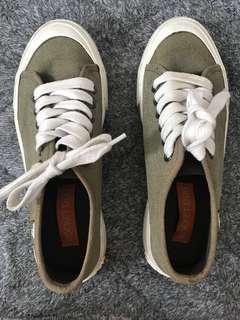 Rocket Dog Olive Green Sneakers