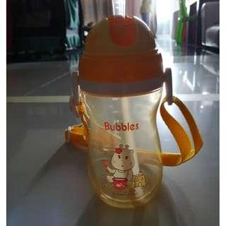 Bubbles anti split water bottles 400ml BPA