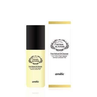 Langsre Amittie Natural Oil to Foam Cleanser Travel Size