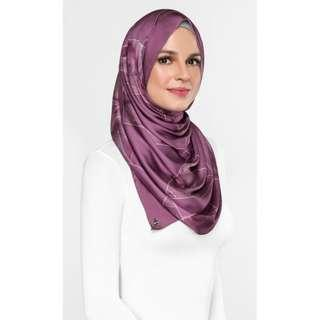 #ssginstocks dUCk Marble Scarf In Mulberry