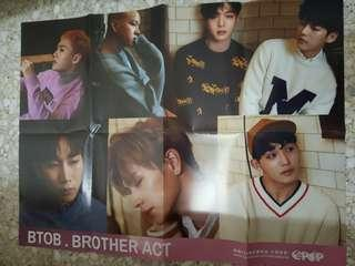 BTOB Brother Act poster