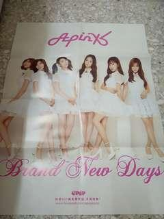 Apink Brand New Days poster