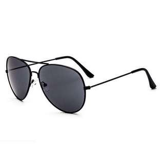 Sunglasses Aviator Black