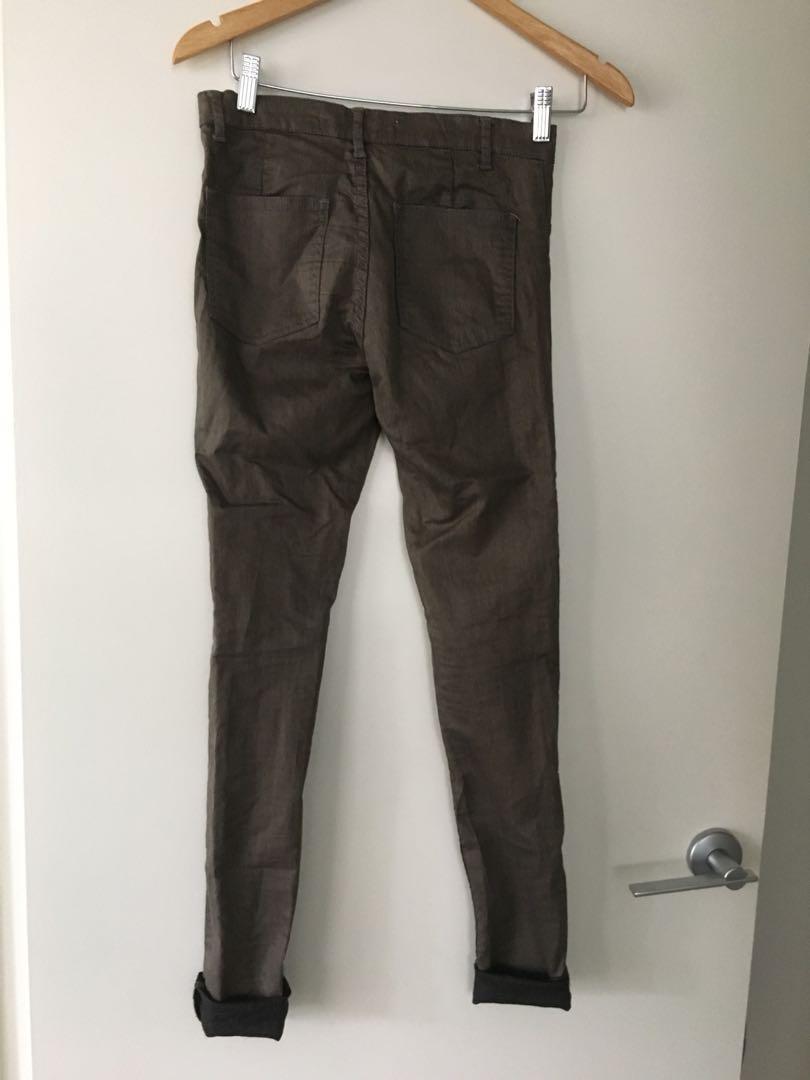 $10 SALE Country Road Khaki skinny jeans - Sz 4 (AU 6)