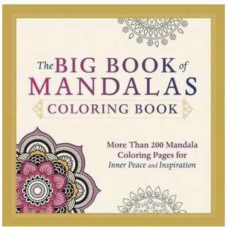 🚚 The Big Book of Mandalas Coloring Book: More Than 200 Mandala Coloring Pages for Inner Peace and Inspiration