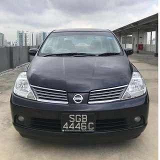 NISSAN LATIO 1.5L T