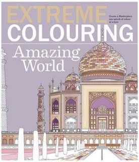 🚚 Extreme Colouring: Amazing World