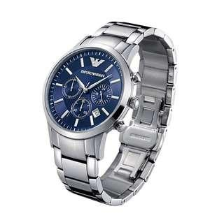 🚚 Emporio Armani classic Blue dial men's watch
