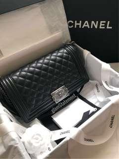 75437c90a33b chanel boy caviar new | Entertainment | Carousell Singapore