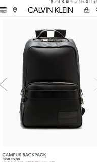 🚚 Calvin klein campus backpack