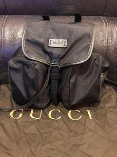 Gucci backpack bag 書包 背囊