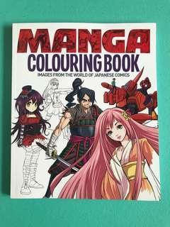 🚚 Manga Colouring Book
