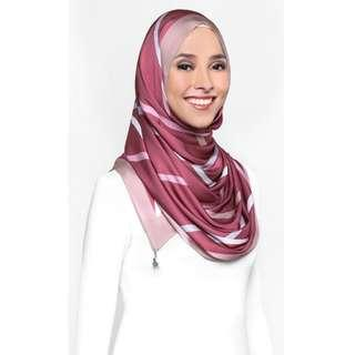 #ssginstocks Blurred Lines Shawl - The Anniversary Edition In Framboise