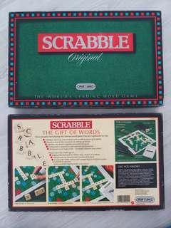 Scrabble. Original 1988 Board Game by Spears Games