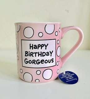 Happy Birthday Gorgeous Heat Changing Mug