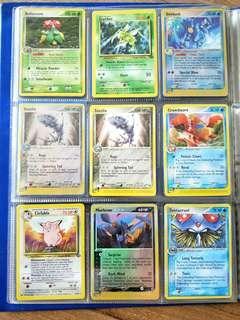 Pokemon Cards (Rare & Uncommon)