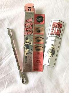 Benefit goof proof eyebrow pencil #5!