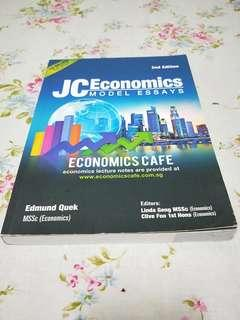 JC Economics Model Essay