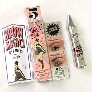 Benefit gimme brow + #5