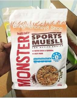 Monster Sports Muesli for active bodies