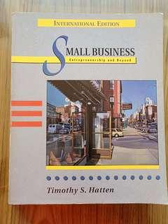 Small Business Entrepreneurship and Beyond