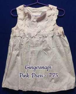 Gingersnaps Pink Dress