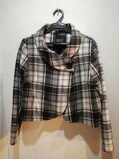 Plaid Jacket korean style