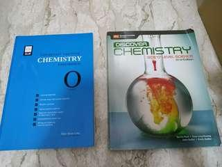 Chemistry text book and work book