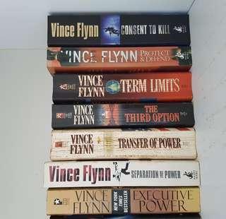 🚚 Vince Flynn - Mitch Rapp series