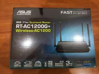 BN AC1200G+, Asus Wireless Router