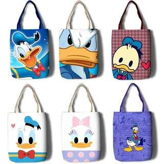 🚚 Little Donald and Daisy Sling Bag - DSR651  Size: 35*45cm  Design: as attach photo