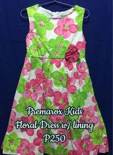 Floral Dress with lining