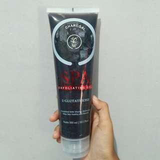 Body Spa Exfoliating Gel Charcoal