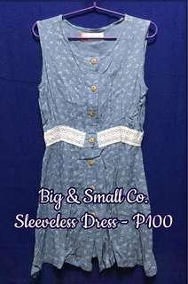 Big & Small Co. Sleeveless Dress