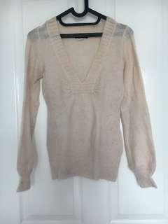 Mango pink sweater