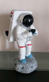 登陸月球太空人手機座 Spaceman mobile phone holder