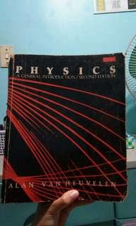 Physics book by Alan Van Heuvelen