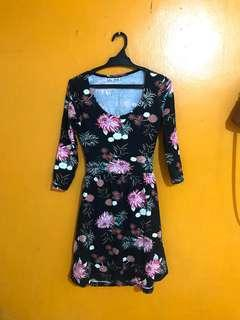 Sexy Back Floral Dress 💕