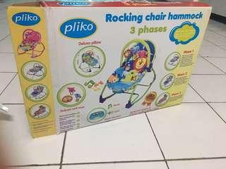Pliko Rocking Chair Hammock 3 Phases