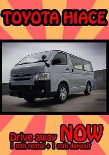 Van Renting OR Purchasing !!