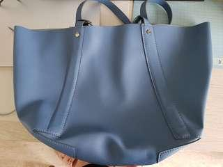 🚚 New Zara Tote bag without zip or button