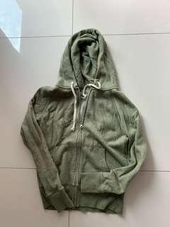 🚚 Green Muji hoodie jacket