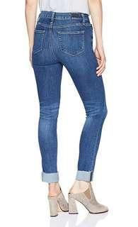 ✨ LIKE NEW ✨ Paige Hoxton ankle peg skinny blue jeans | size 24