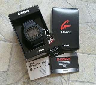 CASIO G-Shock DW-5600MS-1 with bullbar installed