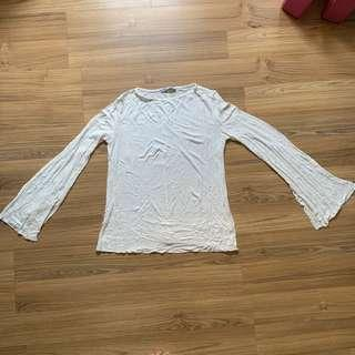 Zara Bell Sleeved Top