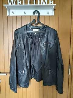 Leather Faux Jacket KOTTON
