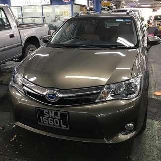 Toyota Fielder 1.5A Hybrid
