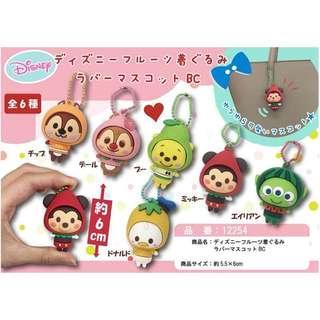 ||預購||日本🇯🇵連線代購 迪士尼 水果變裝玩偶吊飾 西瓜 三眼怪