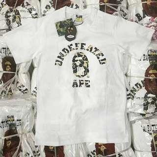 A Bathing Ape x Undefeated S/S Tee