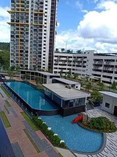 Oasis 2 partly furnished for rent, Mutiara height,kajang